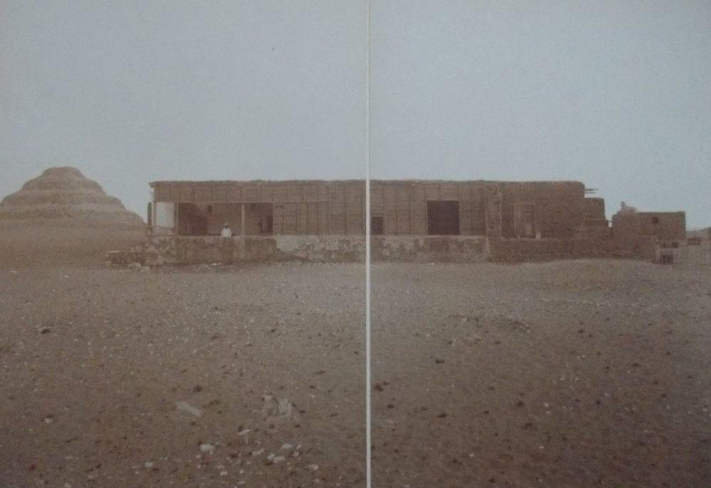 Photographie de la maison de Mariette à Saqqara